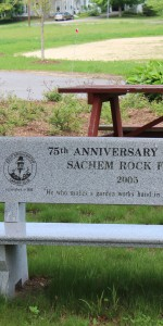 Sachem Rock Farm Bench