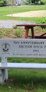 Sachem Rock Farm Bench