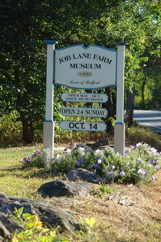 Job Lane Sign