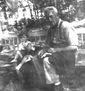 William Balentine and grandson Fred cm