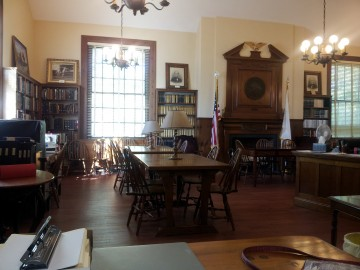 Inside the Dyer Memorial Library